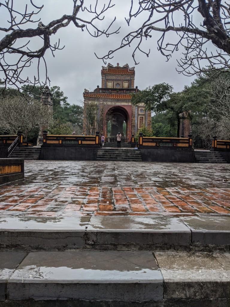 Khai Dinh King Entrance